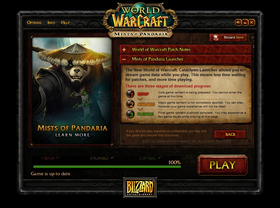 WoW Launcher - launcher pro World of Warcraft