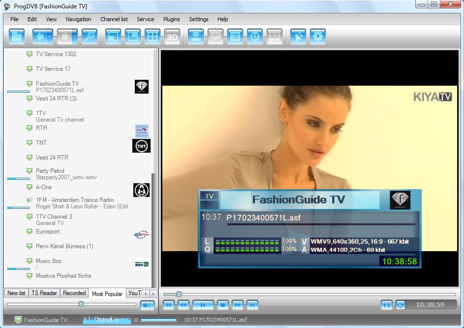 ProgDVB - dokonalý rpogram pro sledování záznamů rádií a TV stanic