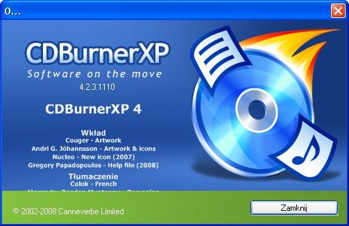 CDBurnerXP - snadné vypalování CD a DVD zdarma