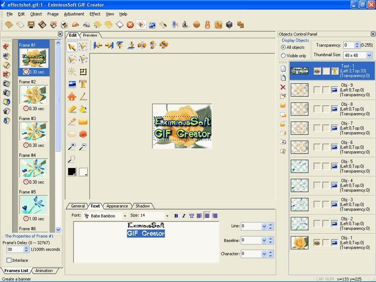 EximiousSoft GIF Creator - kvalitní a snadná tvorba web animací
