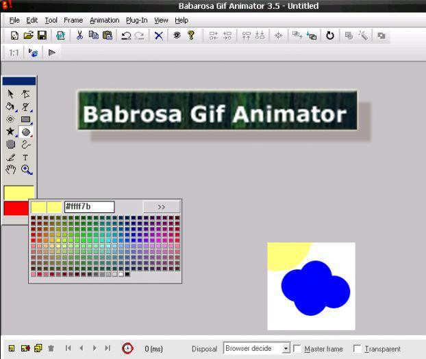 Babarosa Gif Animator - pojďme společně tvořit líbivé animace
