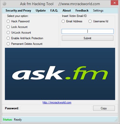 Ask tool - ptejte se a já odpovím