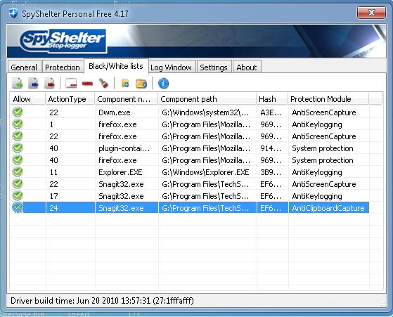 SpyShelter - dokonale bezpečná ochrana vašeho operačního systému