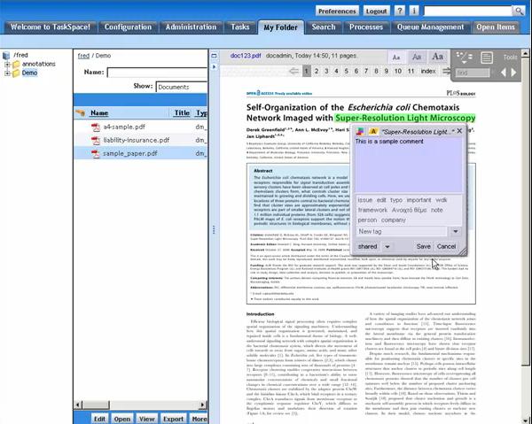 TaskSpace - aplikace pro sloučený používaných aplikací do jednoho okna