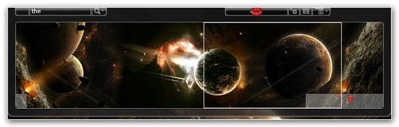 Desktop Panorama - virtuální desktopové prostředí v inovativním konceptu