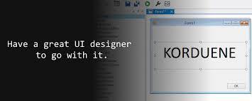 Korduene - snadné vizuální programování
