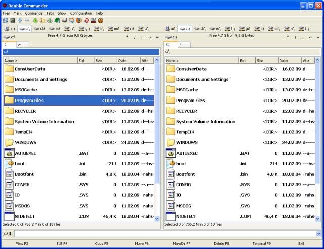 Double Commander - správce souborů pro plnohodnotnou práci