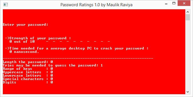 Password Ratings: nejslabší heslo
