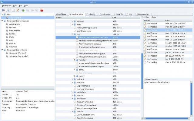 Areca BackUp - nástroj pro snadné a rychlé zálohování dat