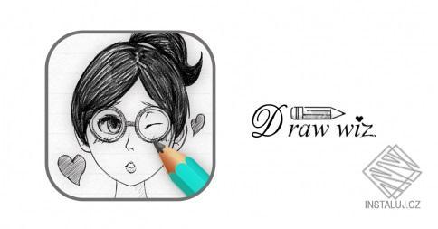 DrawWiz - intuitivní aplikace pro vytváření náčrtů postav