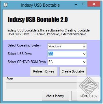 USB Bootable - tvorba bootovacího disku na Windows 7