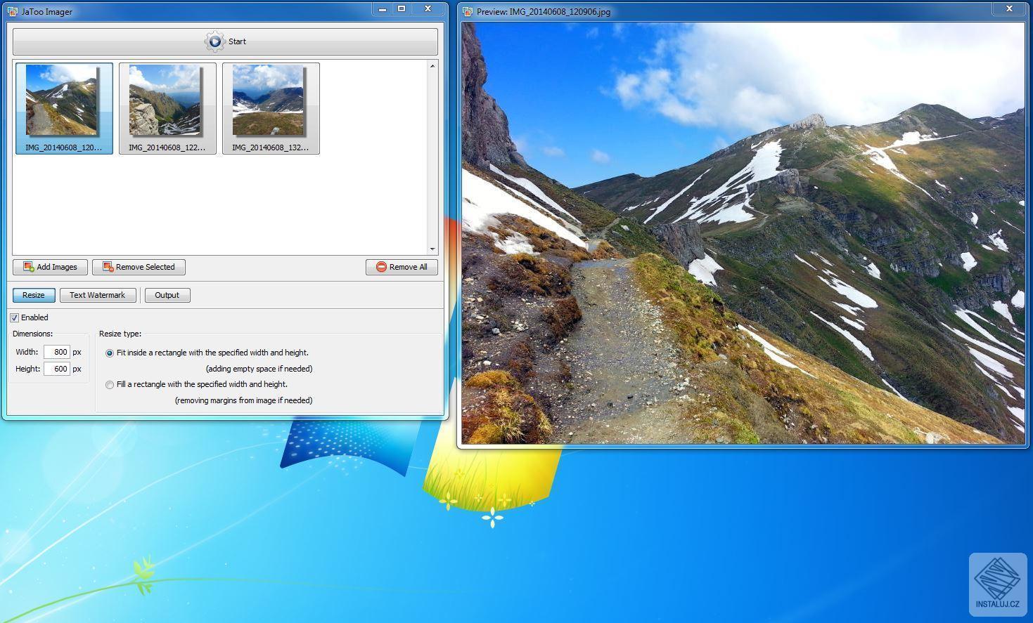JaToo Imager - prohlížení a snadné úprava fotografií