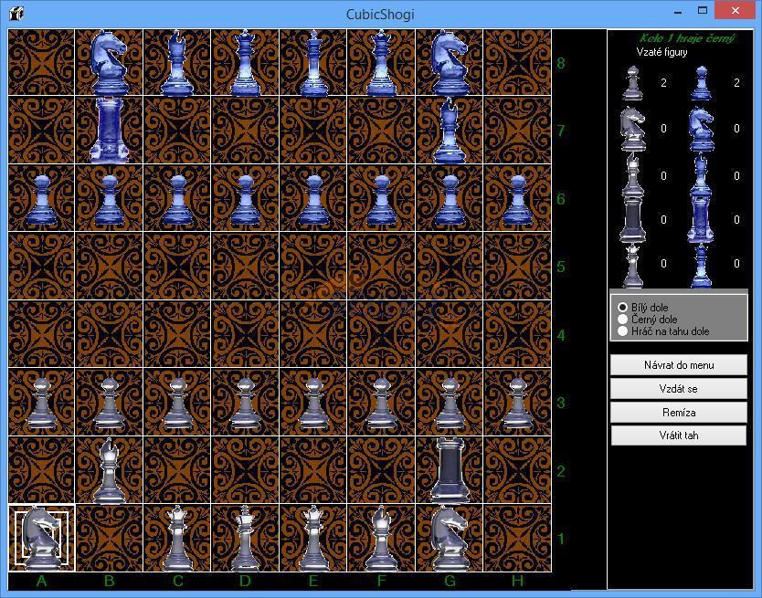 EuroShogi - zdokonalená varianta hry CubicShogi za použití kostek