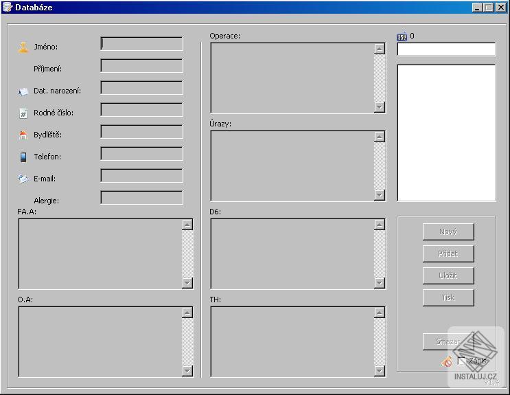 Matrixnet Databaze - jednoduchá a rychlá správa osobních kontatků