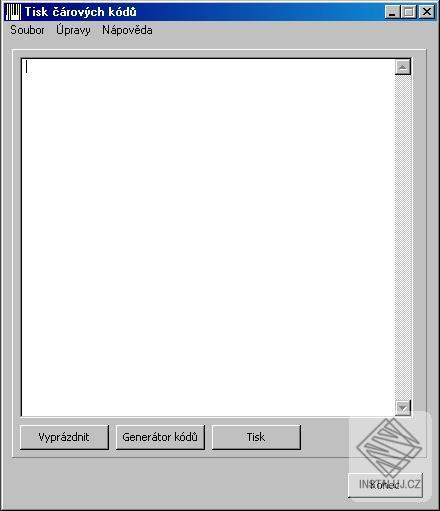 Čárové kódy - generování a tisk čárových kódů
