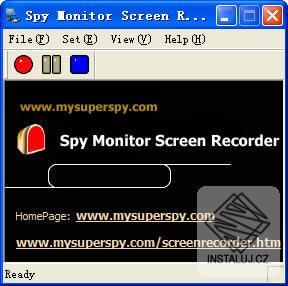 Spy Monitor Screen Recorder - zachycení aktivity na obrazovce vašeho počítače