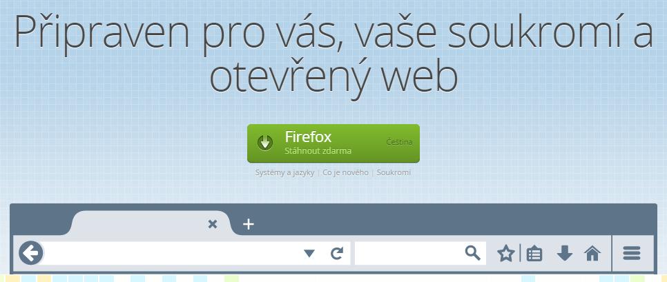 Firefox 34 přináší několik inovací