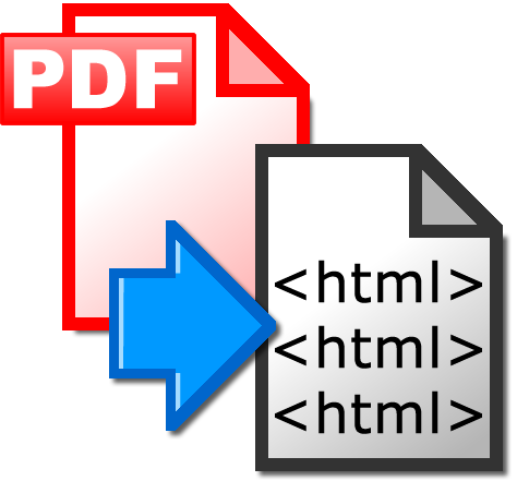 PDF2HTML - snadný a rychlý převod PDF do HTML