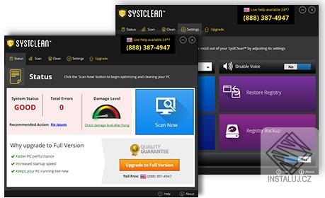 SystClean - rychlá optimalizace vašeho počítače