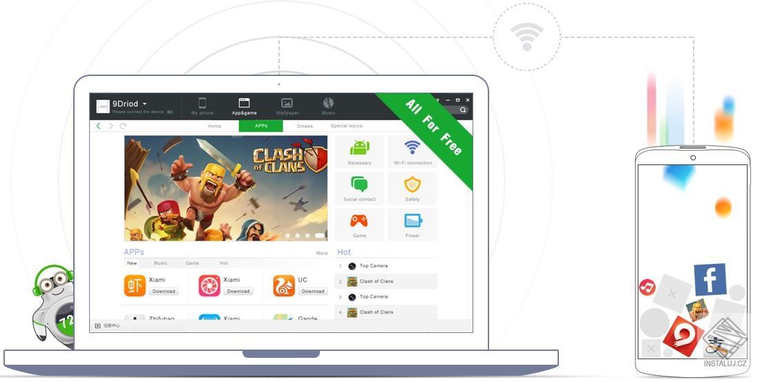 9Droid - snadná správa vašeho zařízení s OS Android