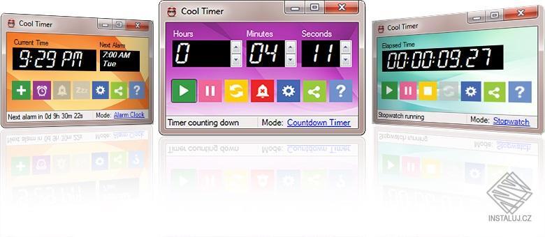 Cool Timer  - snadné měření vašich aktivit