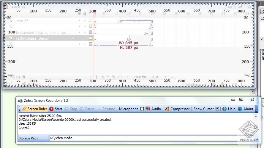 Zebra Screen Record - snadné zachycení aktivity na vaši obrazovce