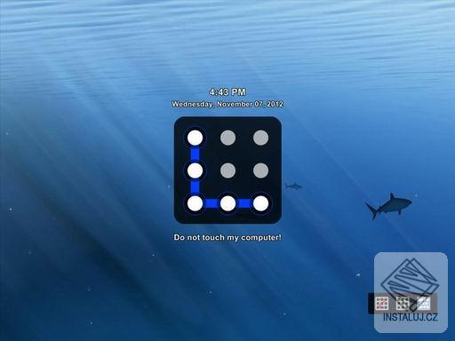 Eusing Maze Lock - odemčení obrazovky pomocí sekvence spojení bodů