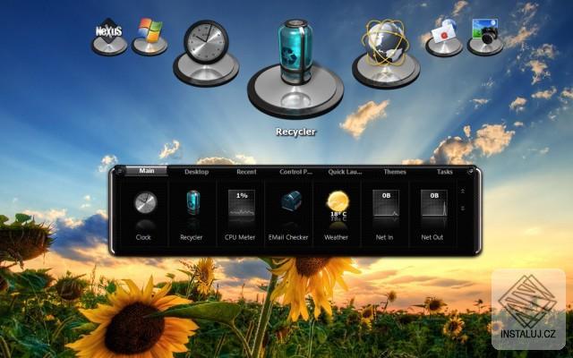 Winstep Nexus - snadná tvorba panelu zástupců