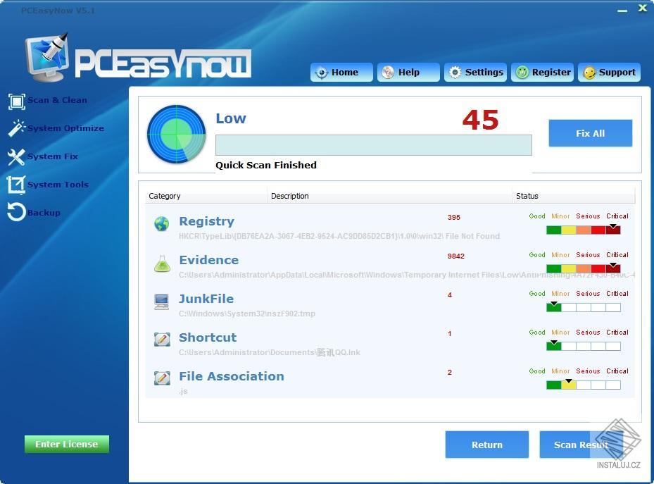 PCEasyNow - řešení chyb a optimalizace vašeho systému