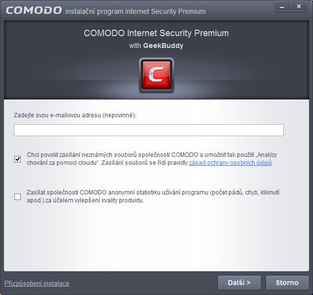 Comodo Internet Security: nastavení voleb chování