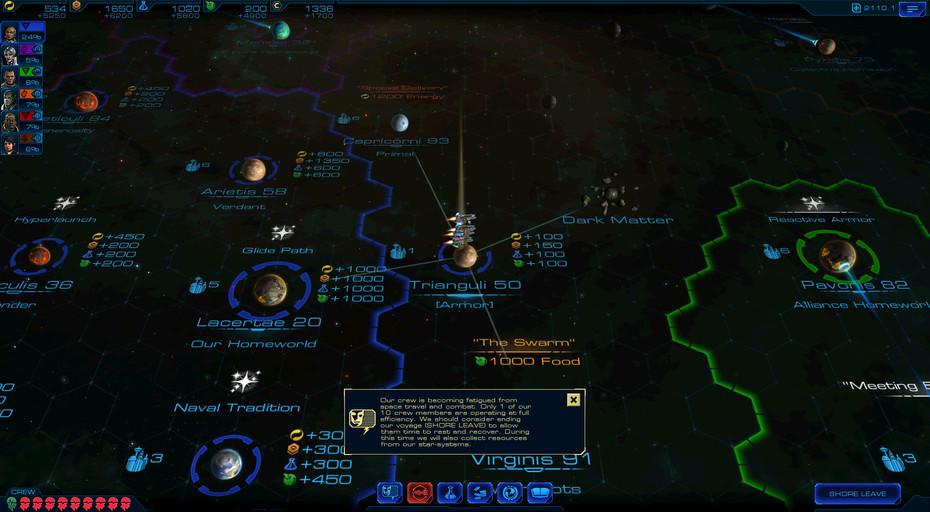 Herní mapa nových Starships