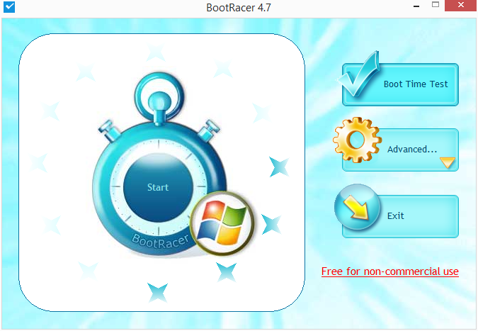 BootRacer: přivítání v programu