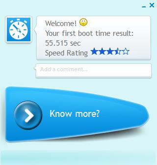 BootRacer: rychlé vyhodnocení času samotného bootování