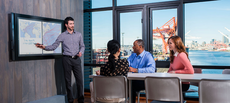 Microsoft Surface Hub: digitabule pro firmy