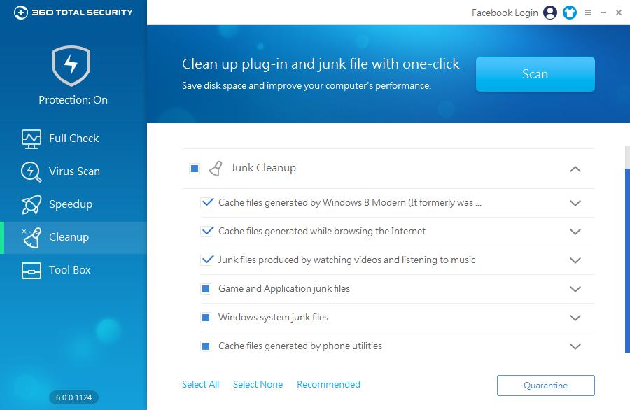 360 Total Security Cleanup: uklizení všech zbytečností po programech