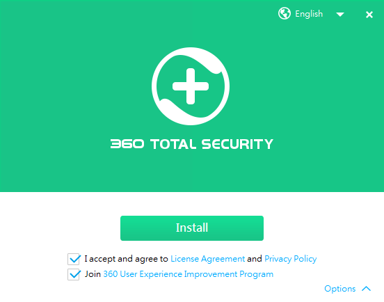 Instalace 360 Total Security