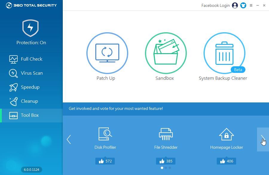 360 Total Security Toolbox: nejen nástroje současné, ale i příslib nástrojů příštích