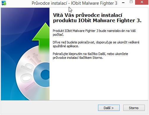 IObit Malware Fighter: instalace v češtině