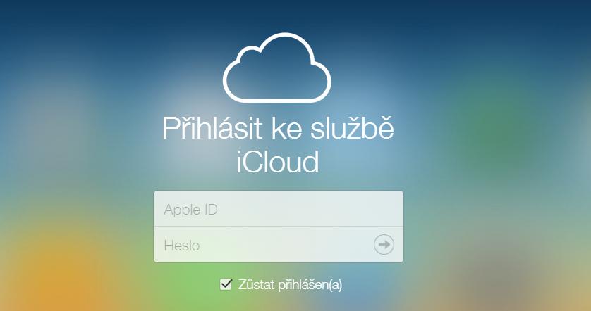Přihlásit se ke službě iCloud můžeme prozatím bezplatně