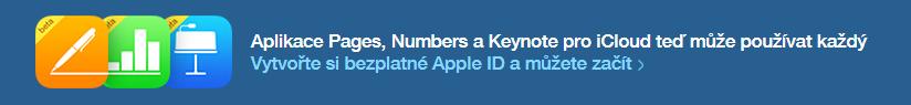 Pages, Numbers a Keynote pro každého zdarma!