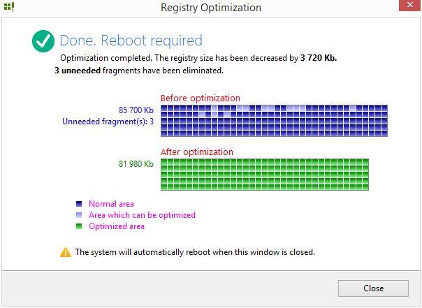 Registry Life: vyhodnocení možností optimalizace