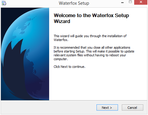Welcome to Waterfox