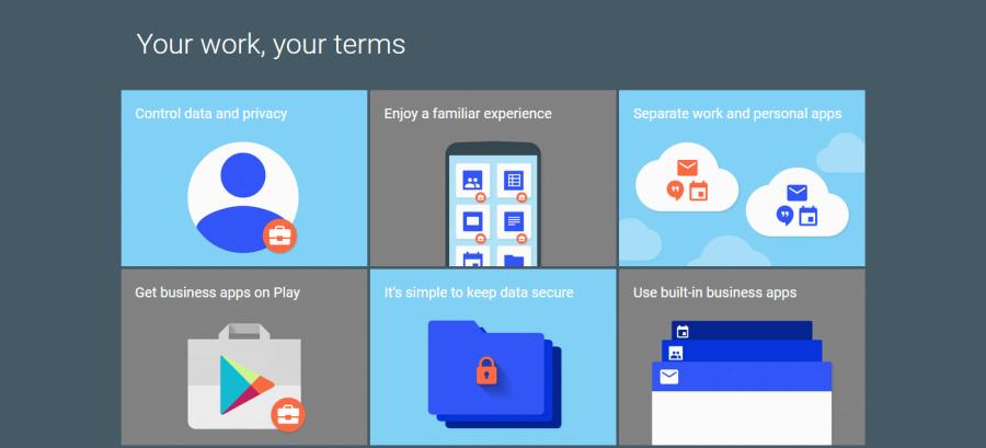 Android for Work: známé ovládání, navzájem izolovaná prostředí a centralizovaná správa