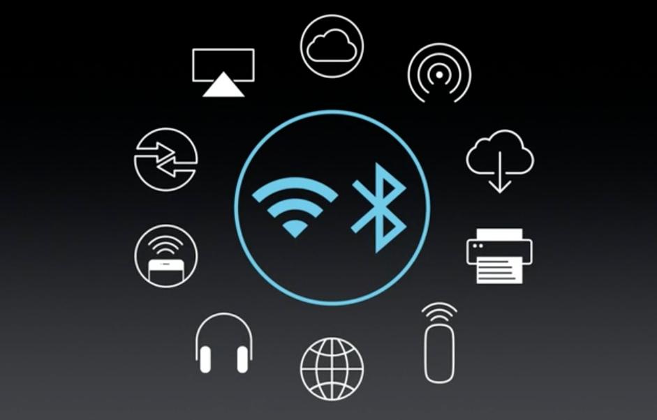 MacBook nejen unifikuje fyzické konektory do jednoho, ale nabízí celou škálu konektivity bezdrátové