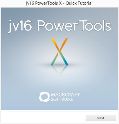 Rychlý Tutorial prvotního nastavení jv16 PowerTools X