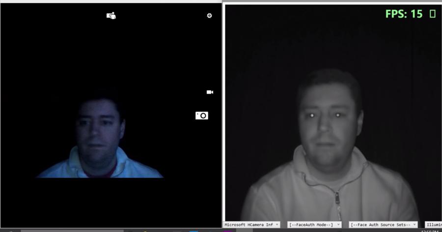 Windows Hello: autentizace infračervenou kamerou