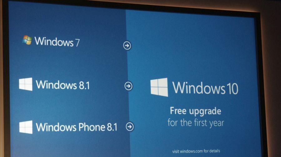 Windows 10 nabídnou upgrade zdarma, pokud to železo dovolí