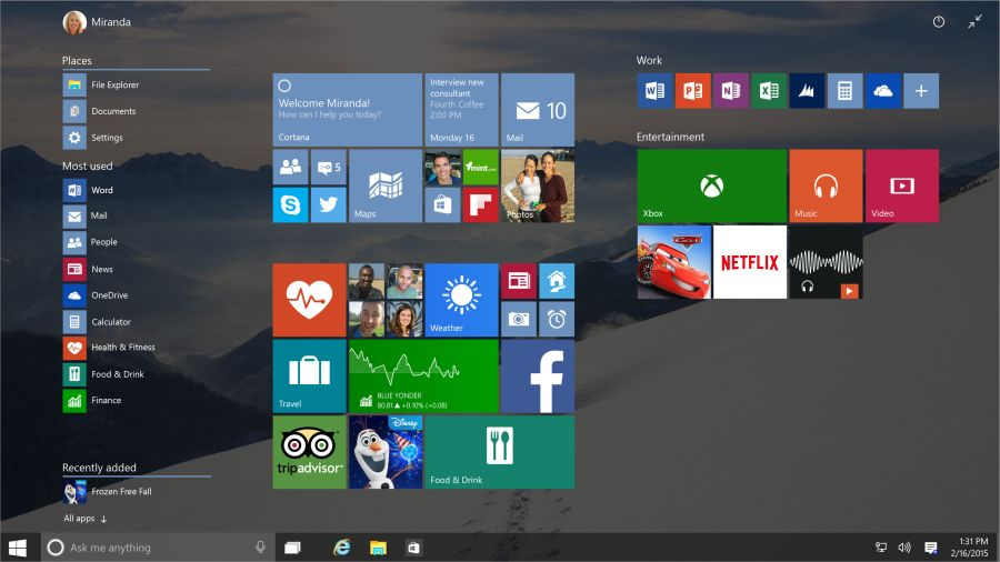 Windows 10 si převezme to nejlepší z Window 7 i Windows 8