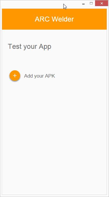 Vybereme APK, které se má načíst pro další práci