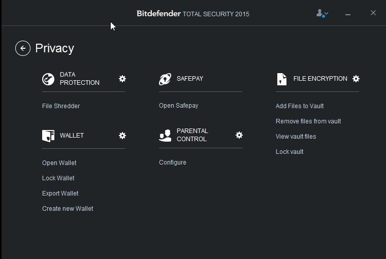 Bitdefender Privacy: ochrana důvěrných informací